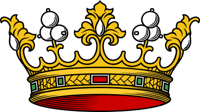 Nobility crown Viscontini