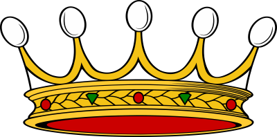 Nobility crown Albertoni