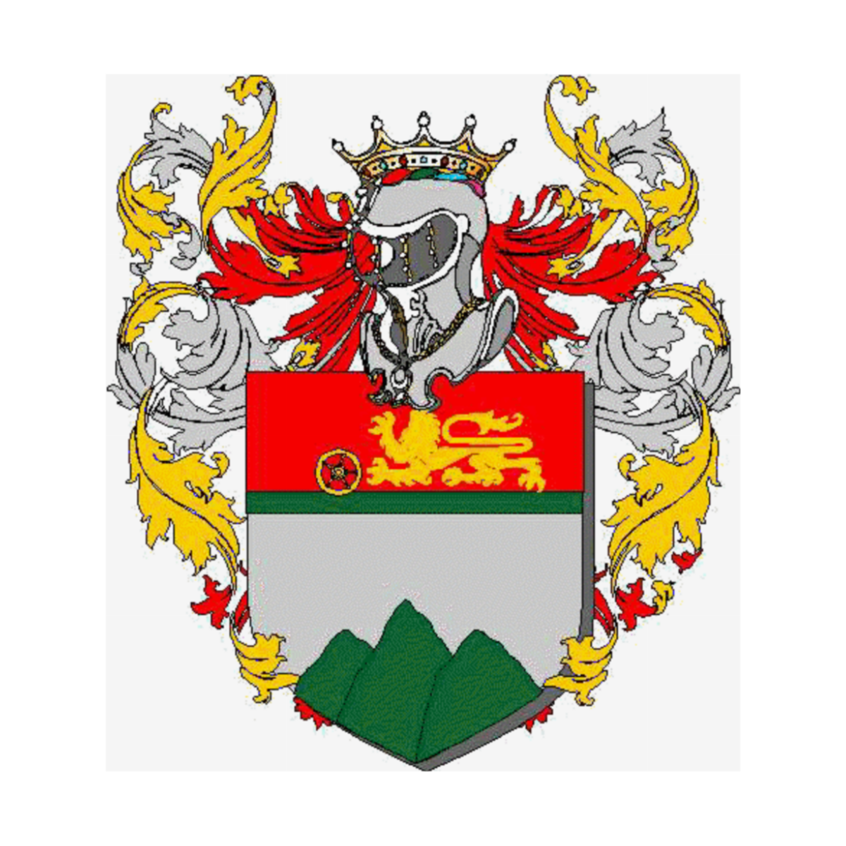 Coat of arms of family Vertolli
