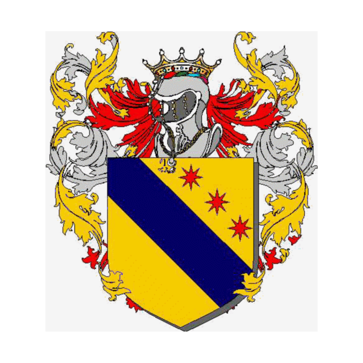 Coat of arms of family Zicci