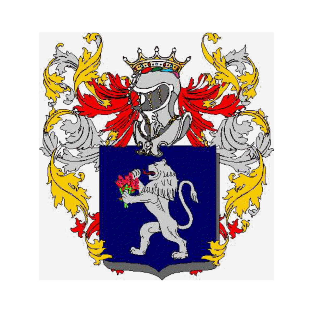 Coat of arms of family Lavosi