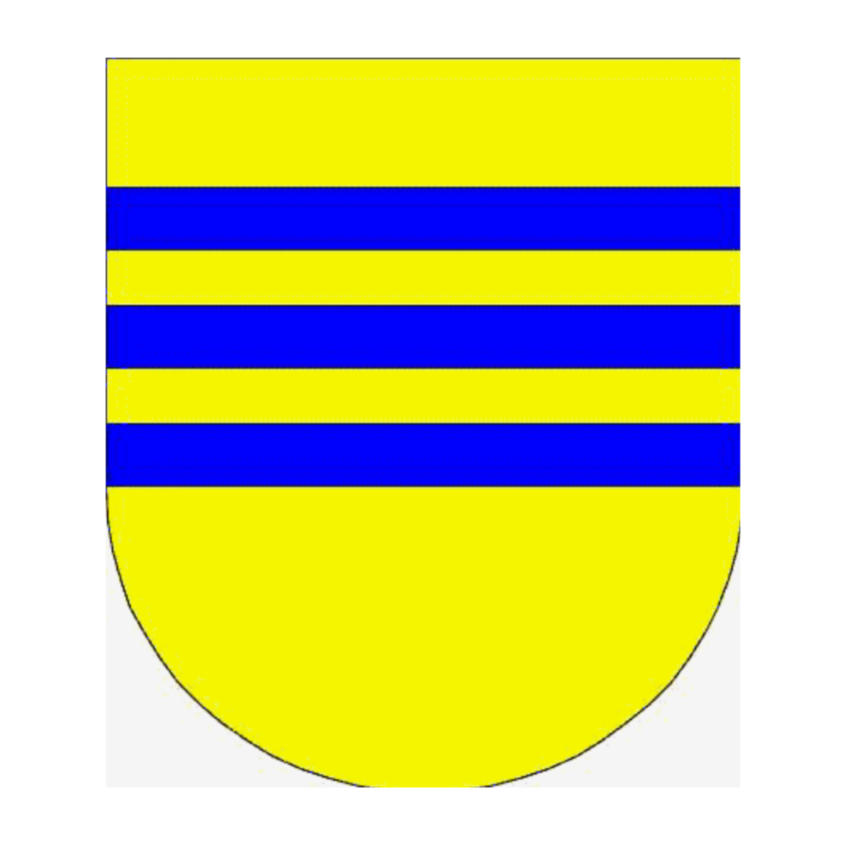 Coat of arms of family Roverelli