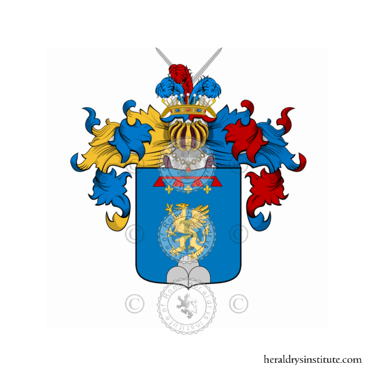 Coat of arms of family Cataliotti