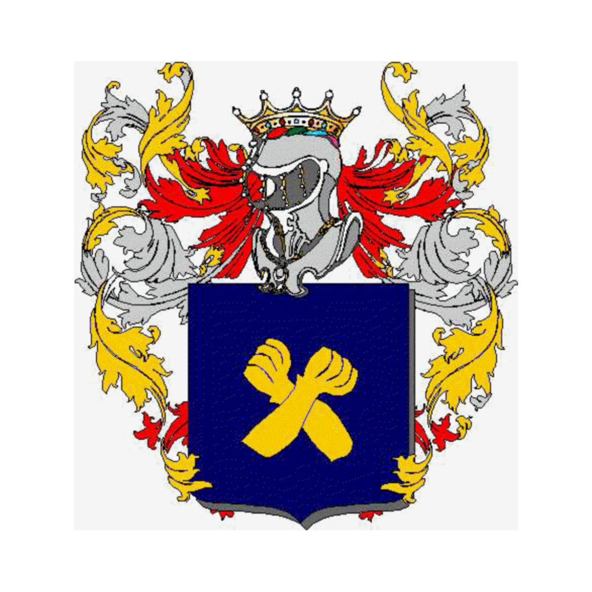 Coat of arms of family Adriana