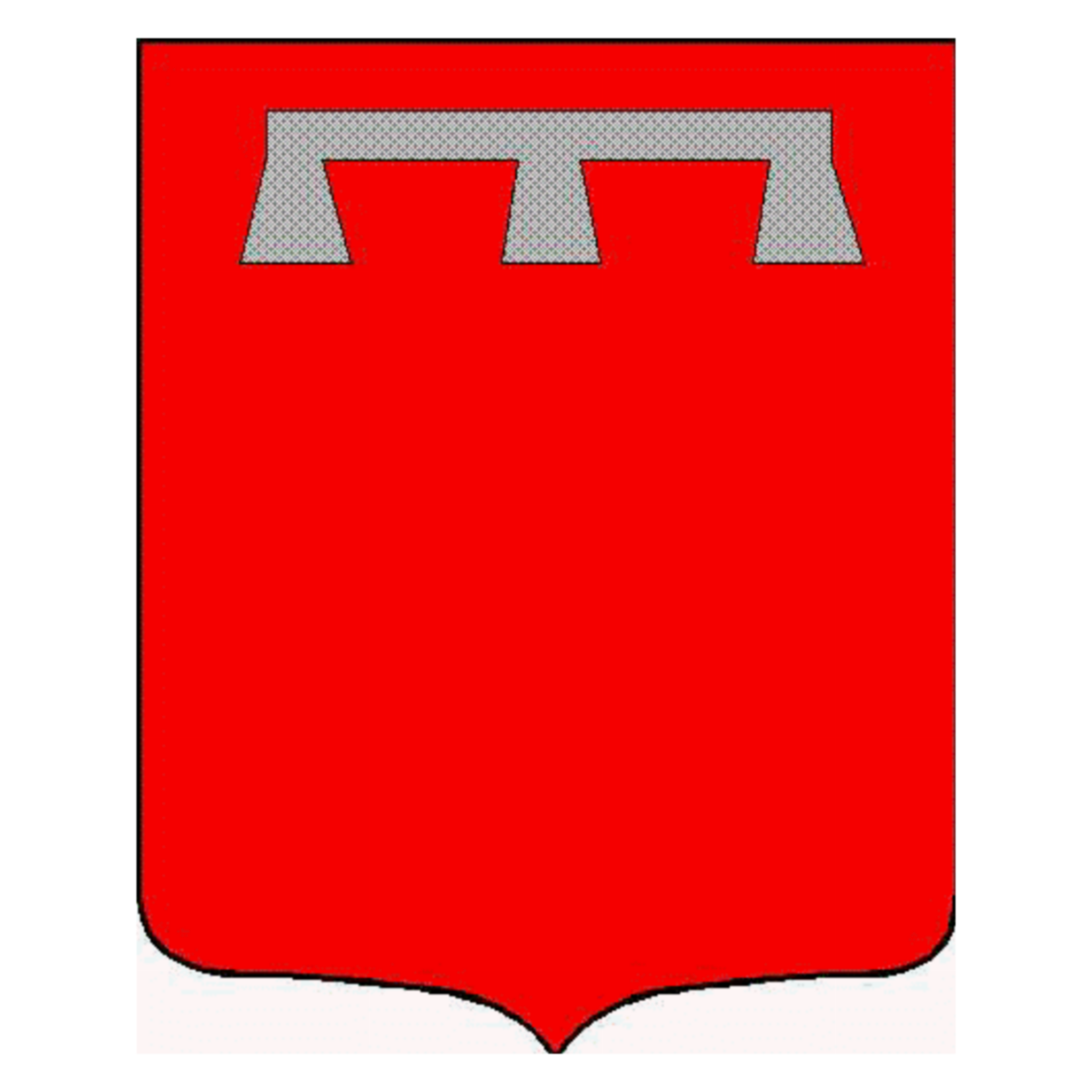 Coat of arms of family Legrou