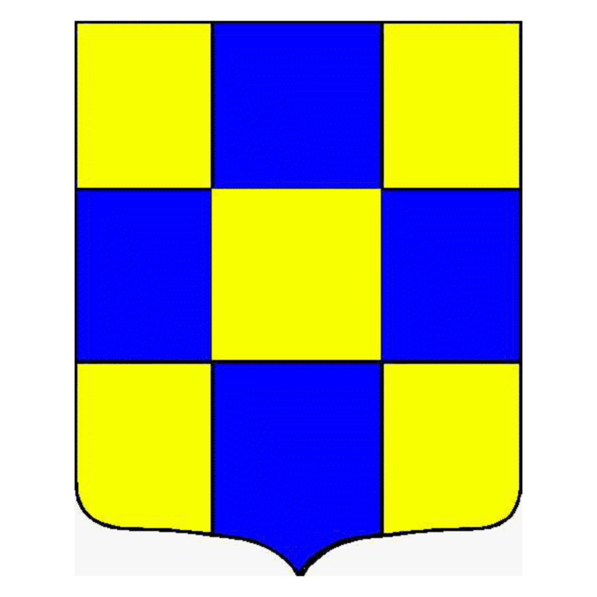 Coat of arms of family Priest