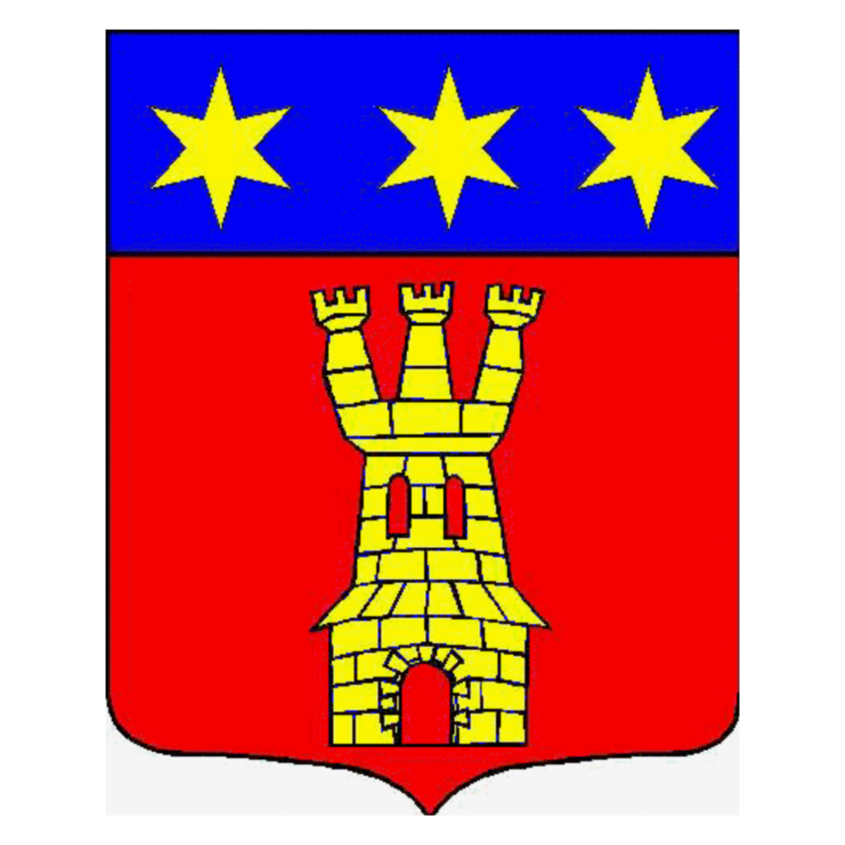 Coat of arms of family Lamidon