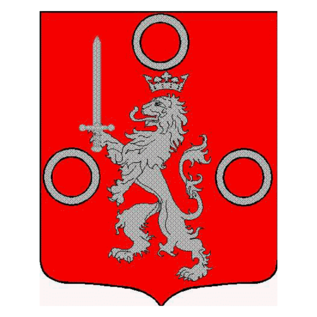 Coat of arms of family Jeandelize
