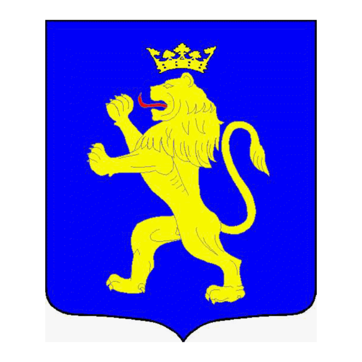 Coat of arms of family Vezou