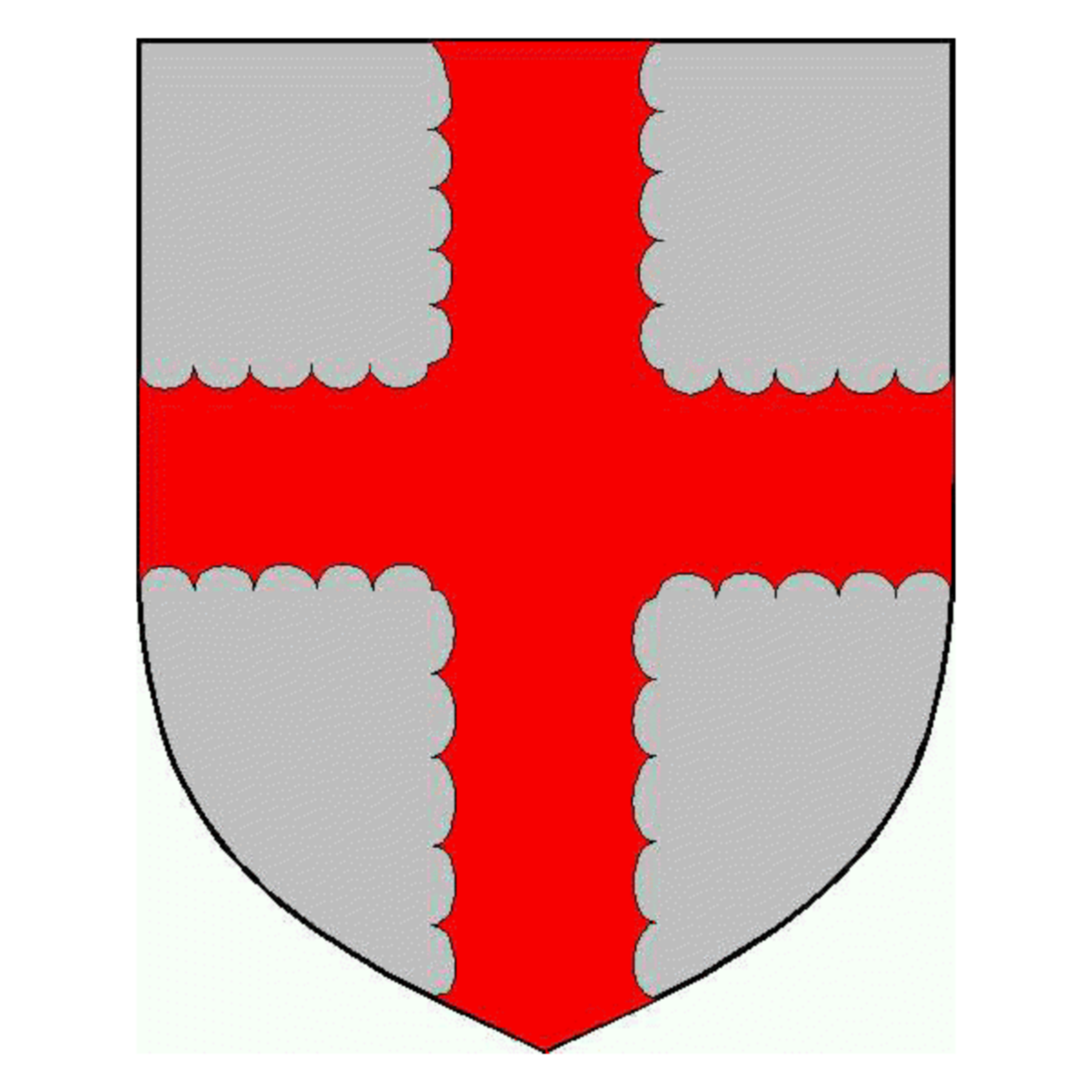 Coat of arms of family Ligneras