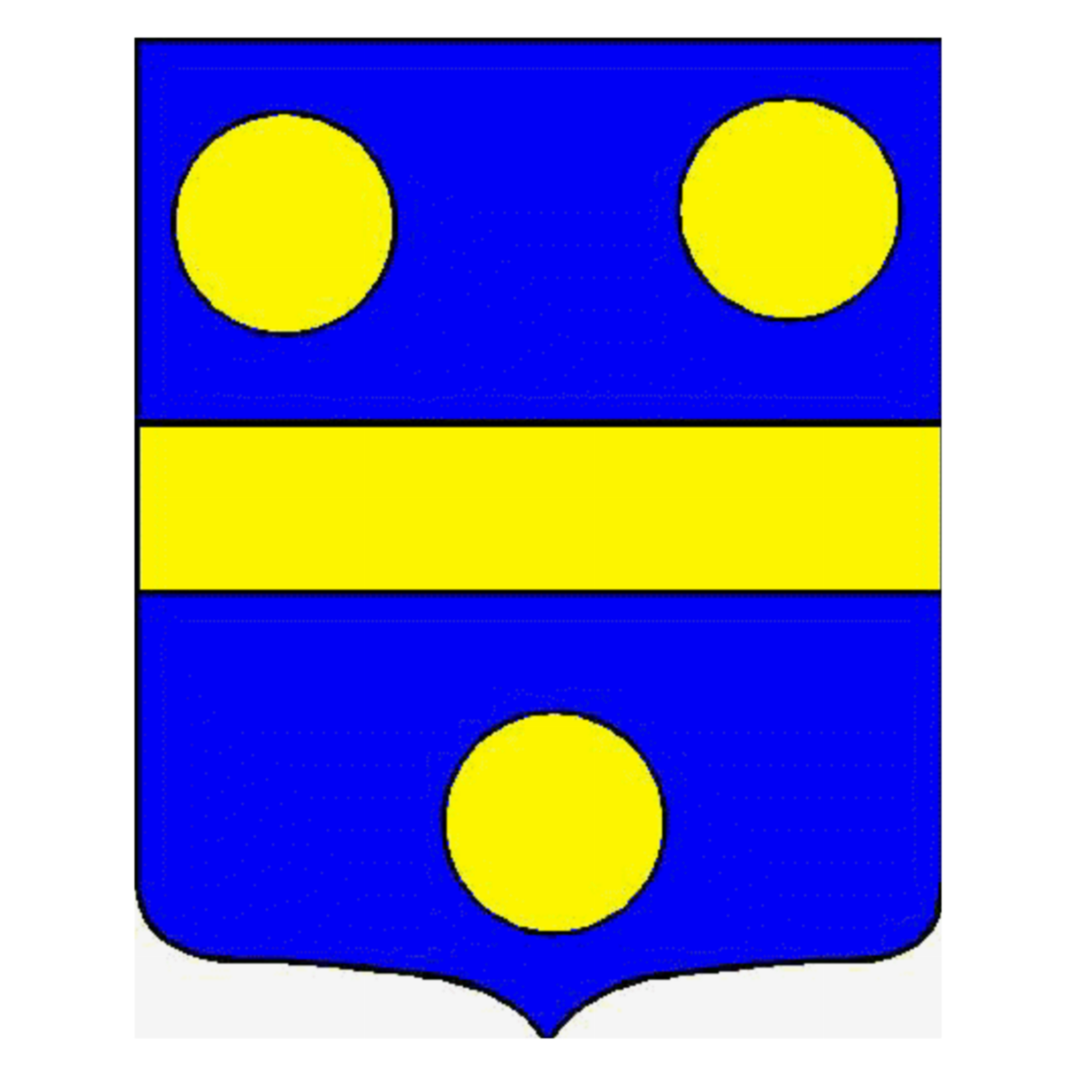 Coat of arms of family Mastain
