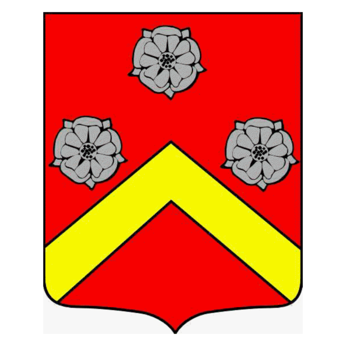 Coat of arms of family L'Allemand