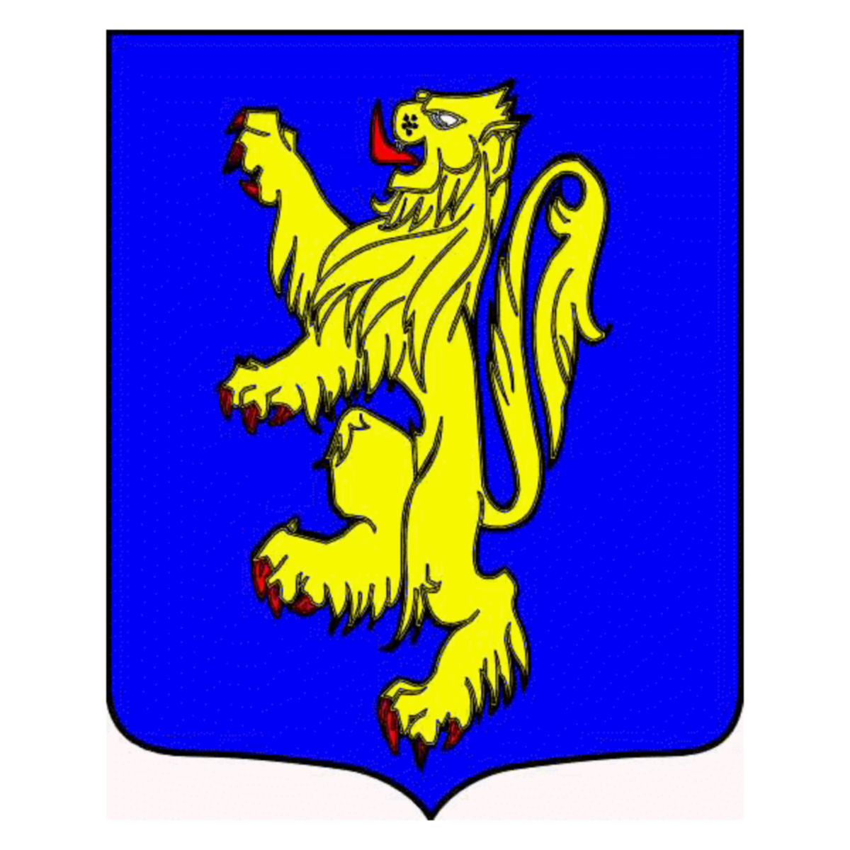 Coat of arms of family Lanfry