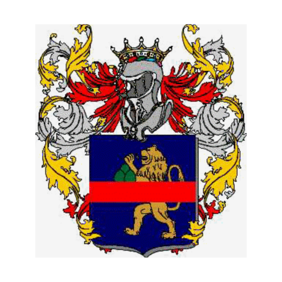 Coat of arms of family Burattinari
