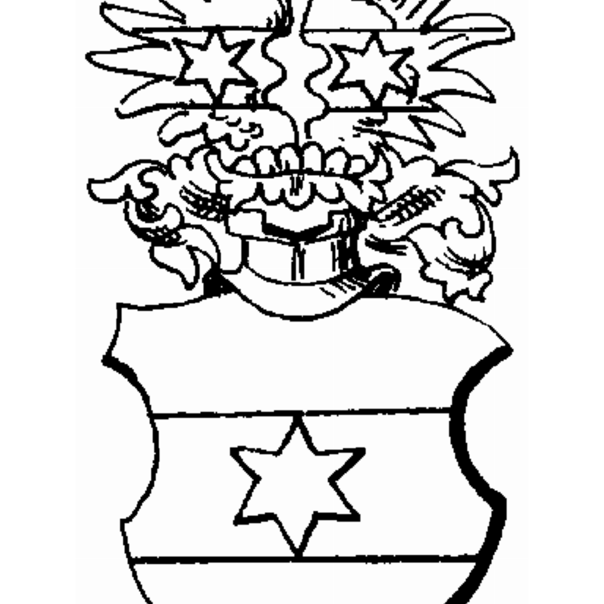Coat of arms of family Vom Backhaus