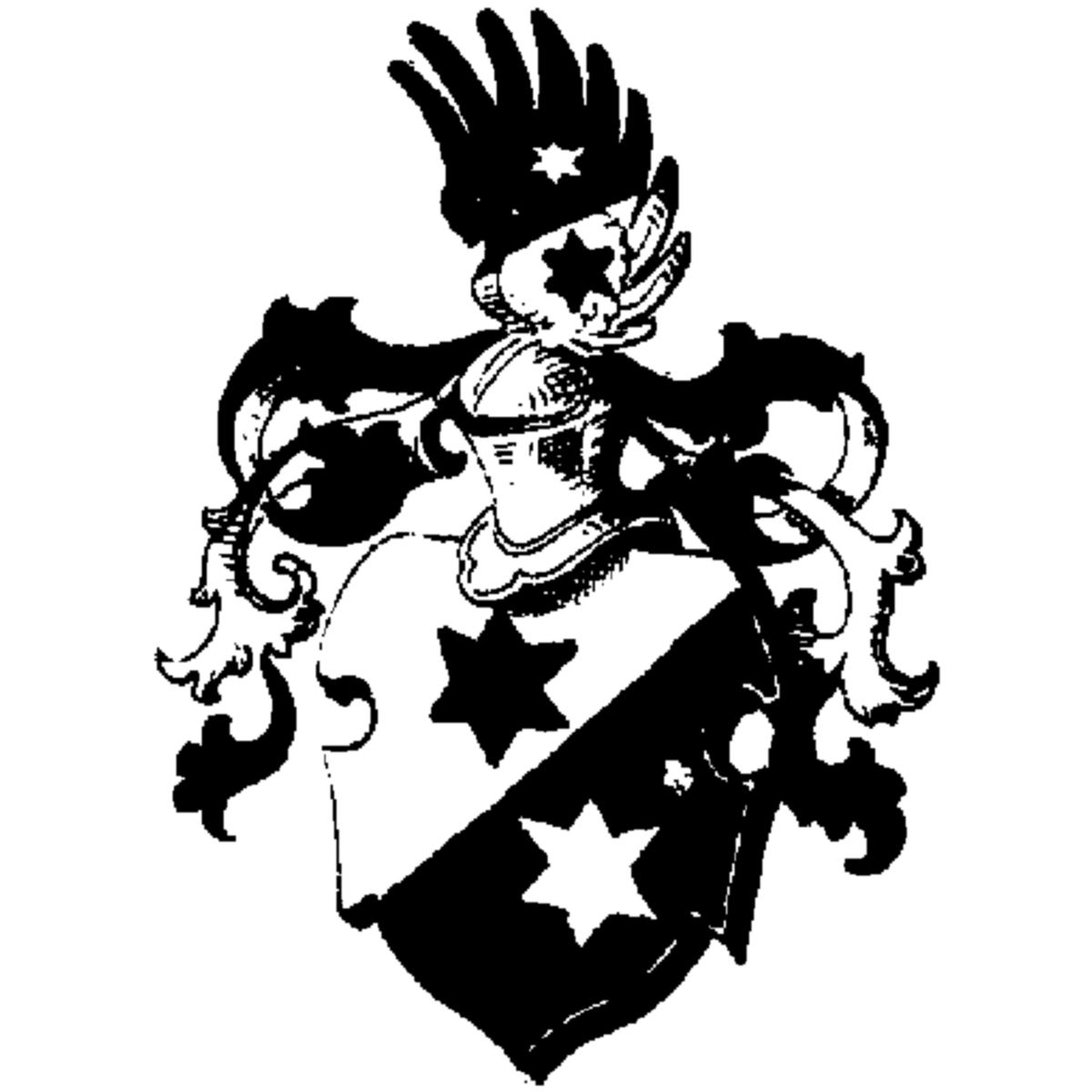 Coat of arms of family Amelonck