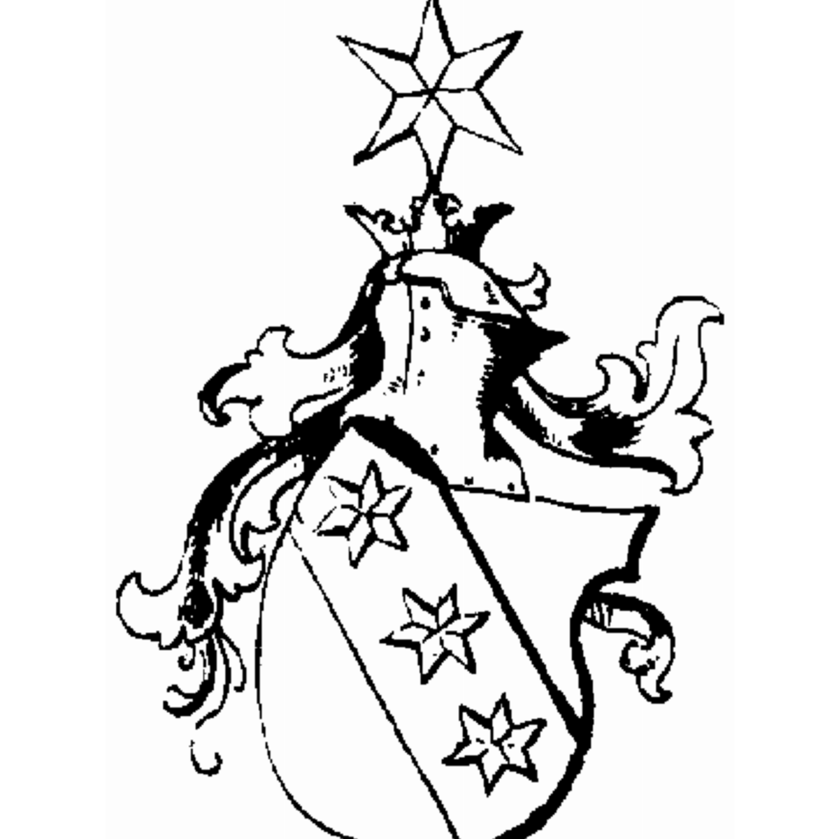 Coat of arms of family Zianelli
