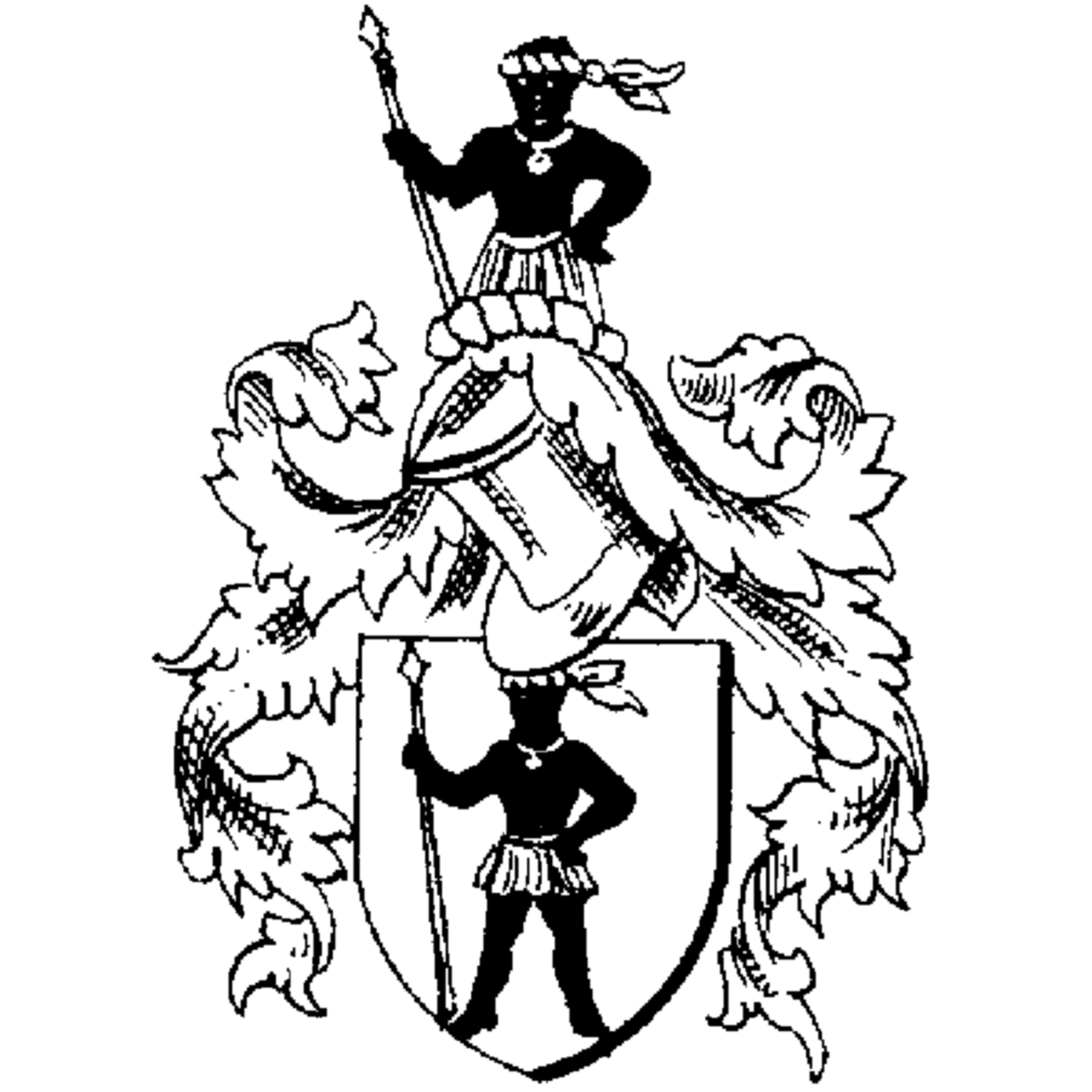 Coat of arms of family Zingerle