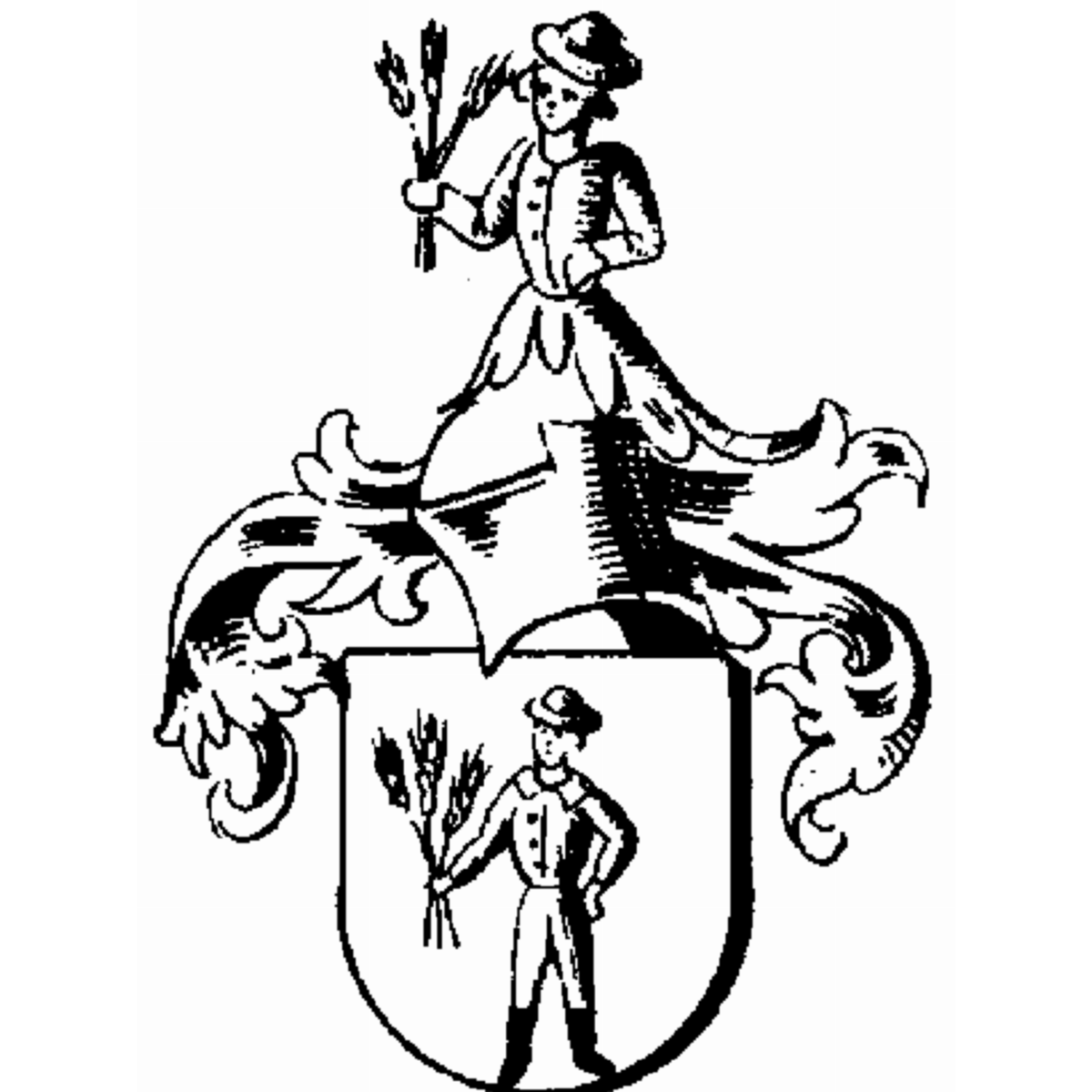 Coat of arms of family Estrich