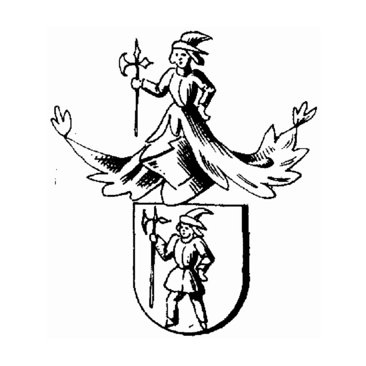 Coat of arms of family Fohle