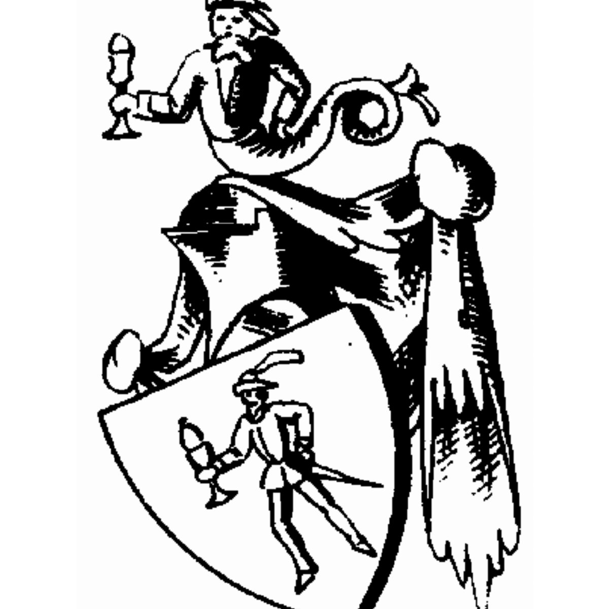 Coat of arms of family Annieser