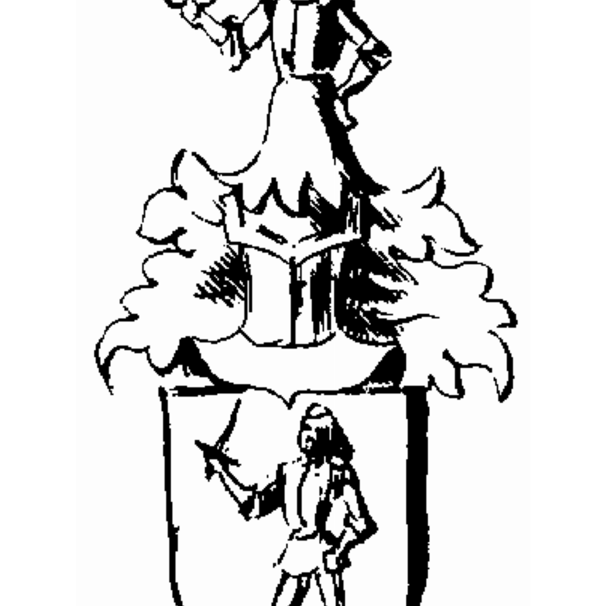 Coat of arms of family Löidgast