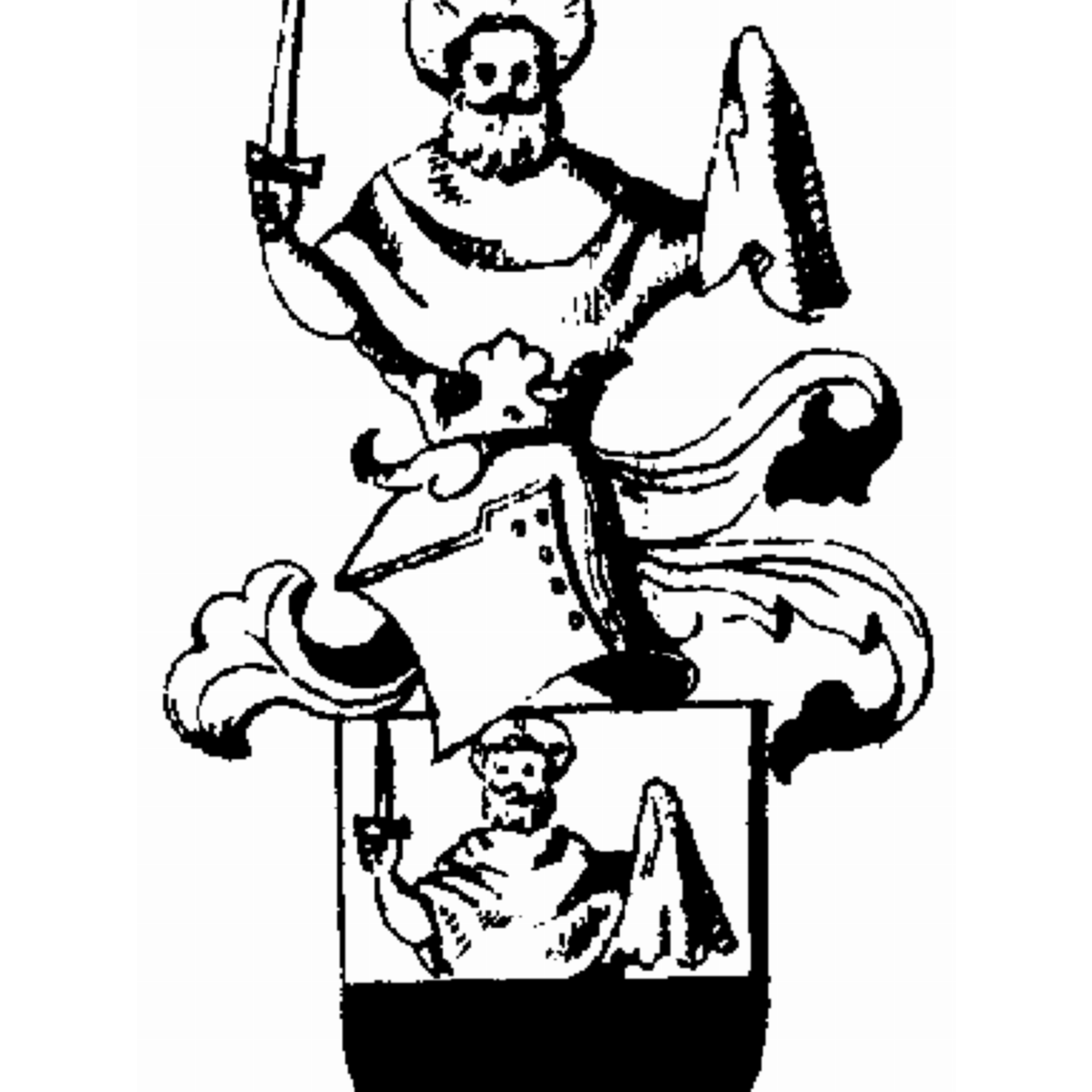 Coat of arms of family Walger