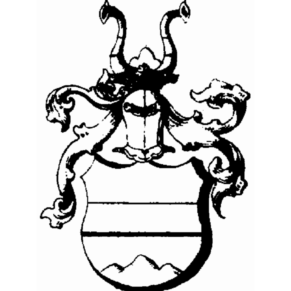 Coat of arms of family Adé