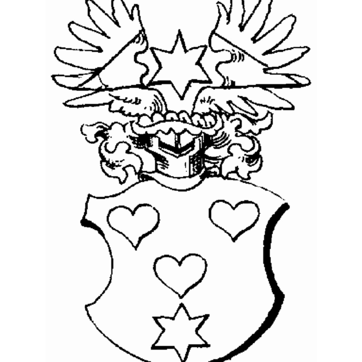 Coat of arms of family Rosentreter