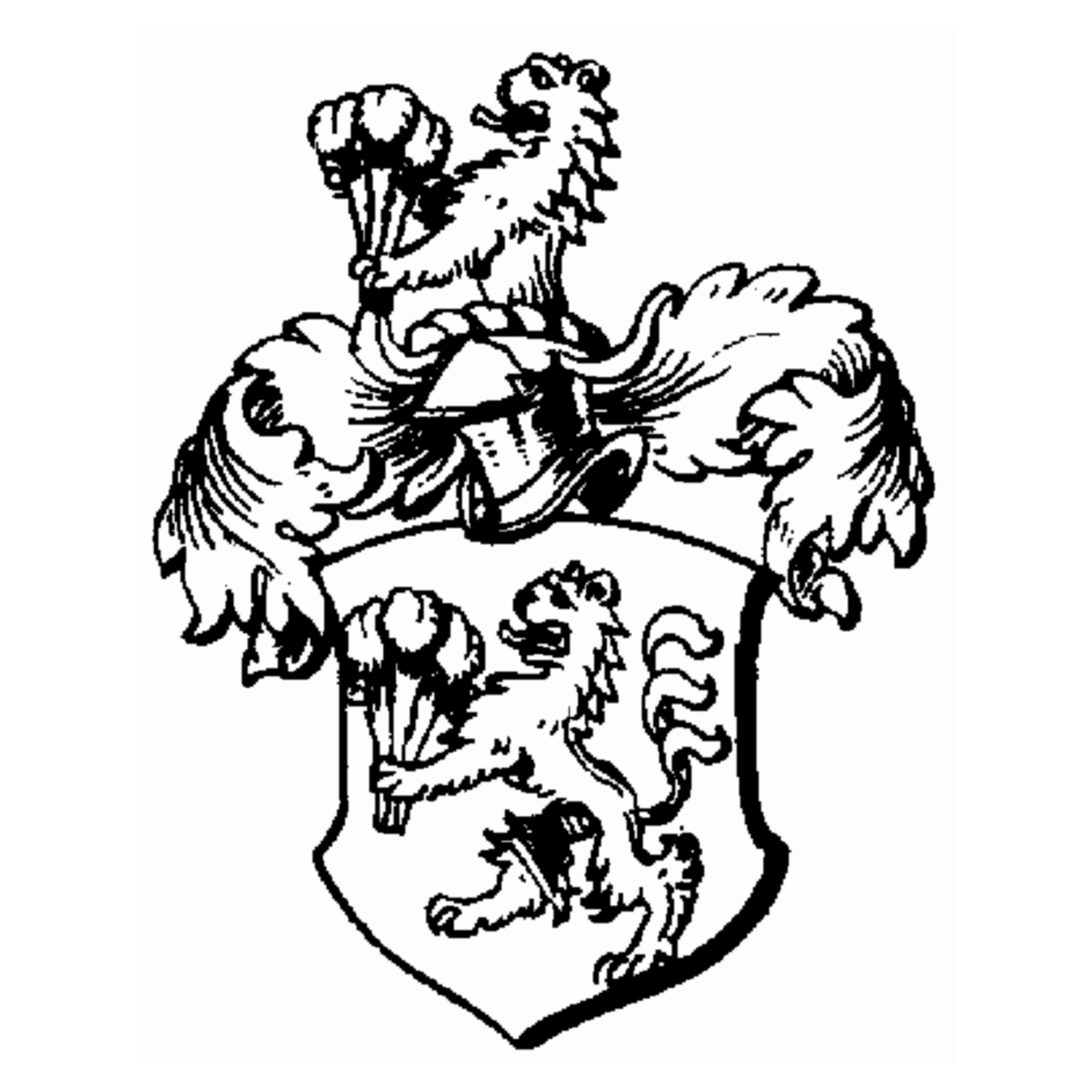 Coat of arms of family Albero