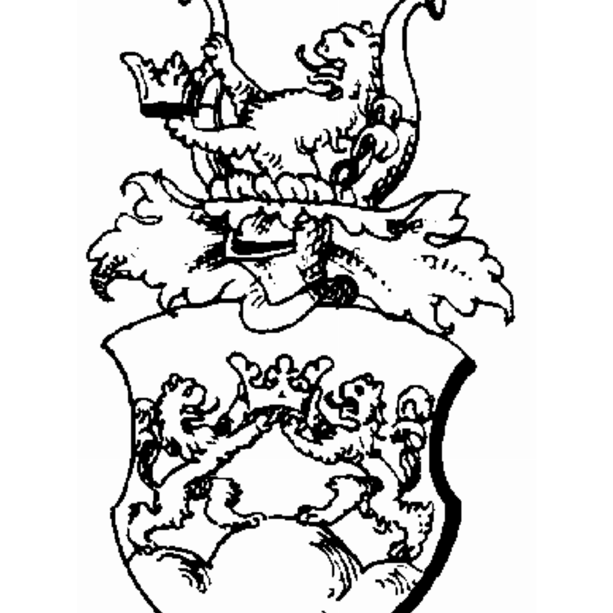 Coat of arms of family Brunow