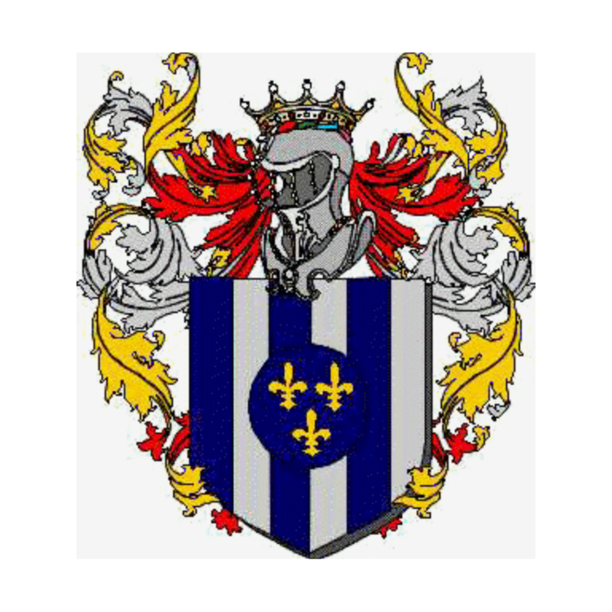 Coat of arms of family Fioto