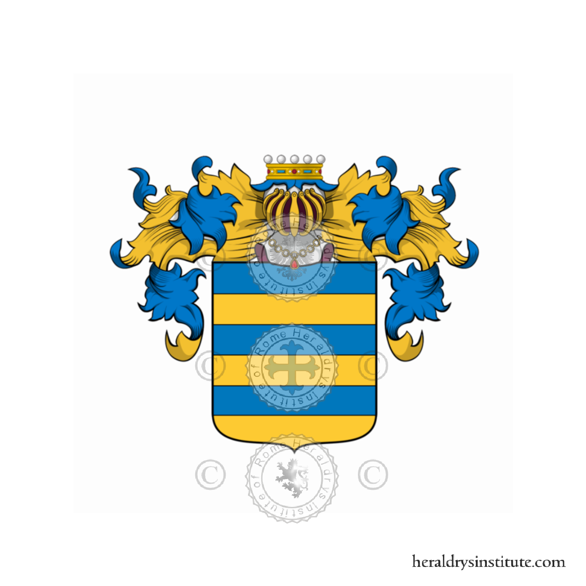 Di Giulio family, heraldry, genealogy, Coat of arms and last