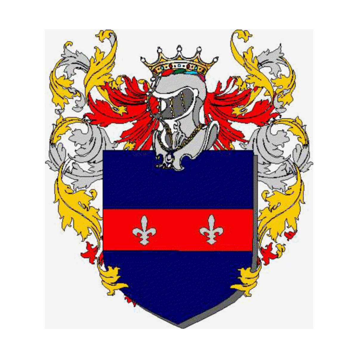 Domini Roberti Famiglia Araldica Genealogia Stemma Domini Roberti