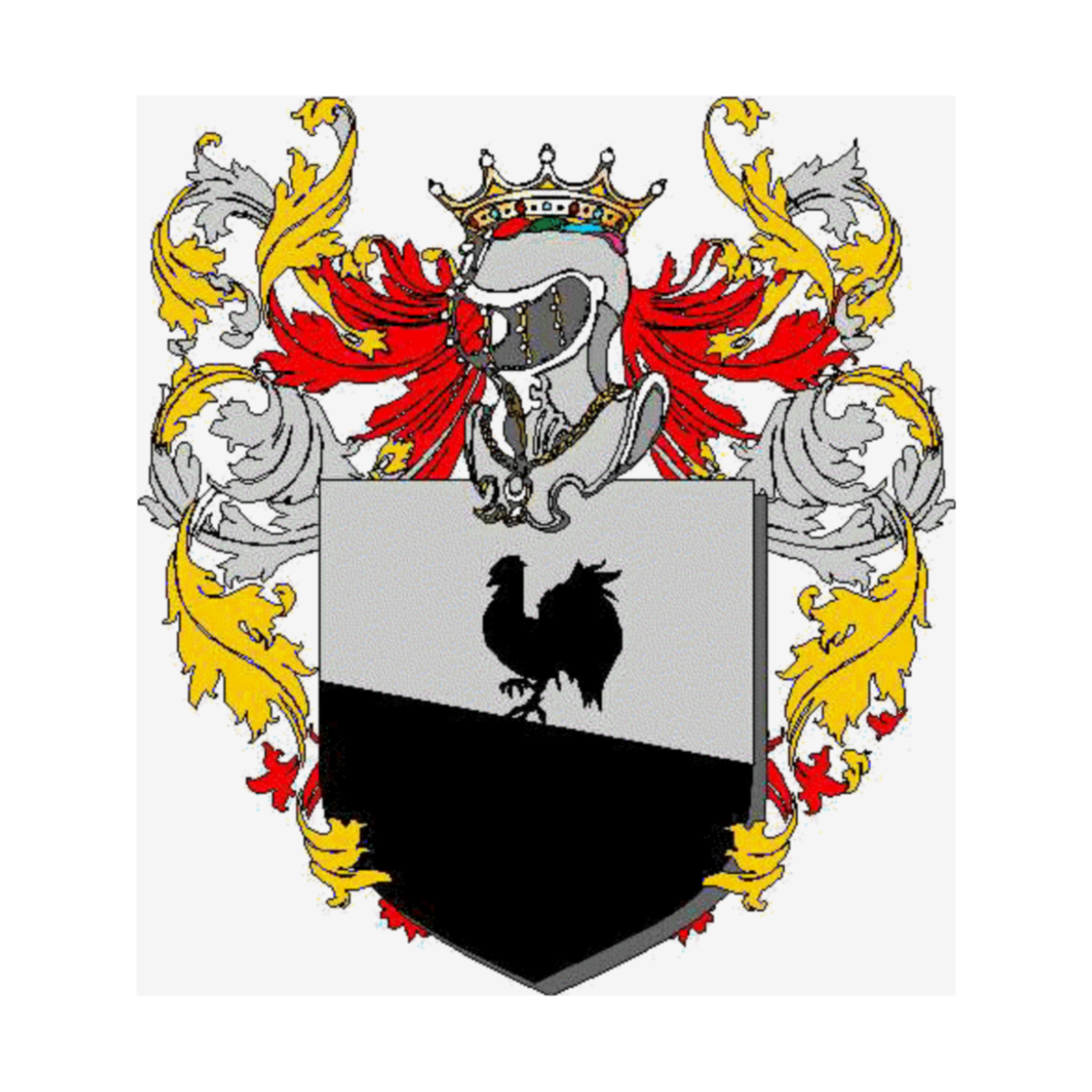Coat of arms of family Luccarini