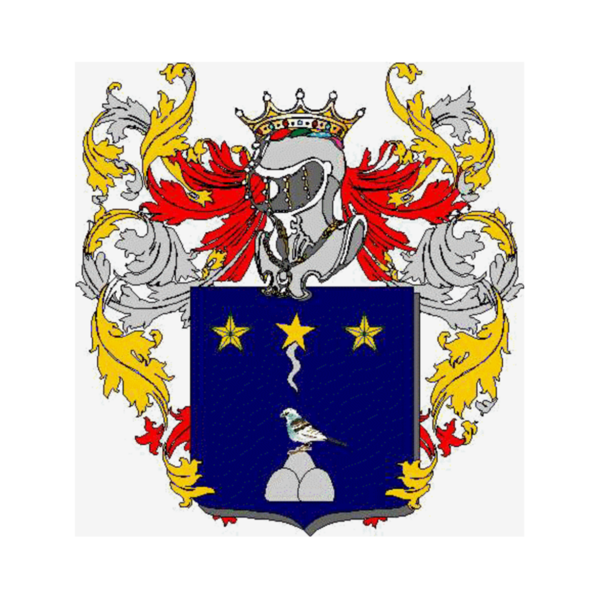 Coat of arms of family Sardone