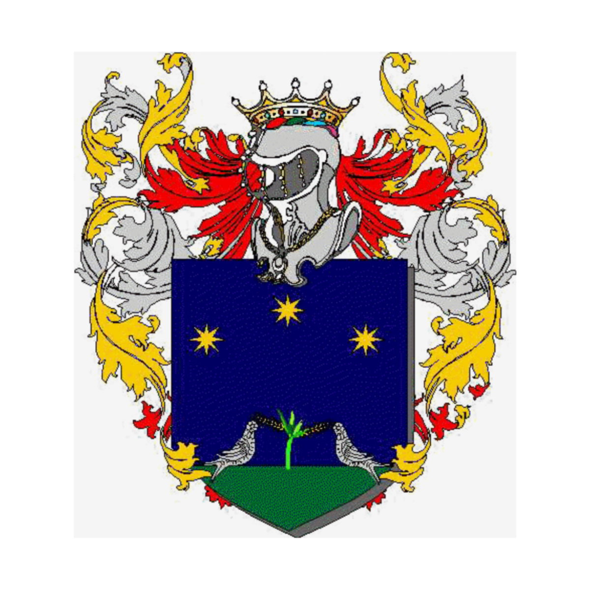 Coat of arms of family Zantone