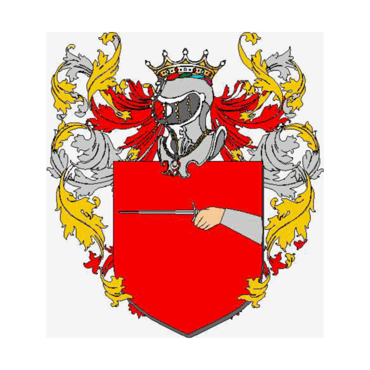 Coat of arms of family Verta