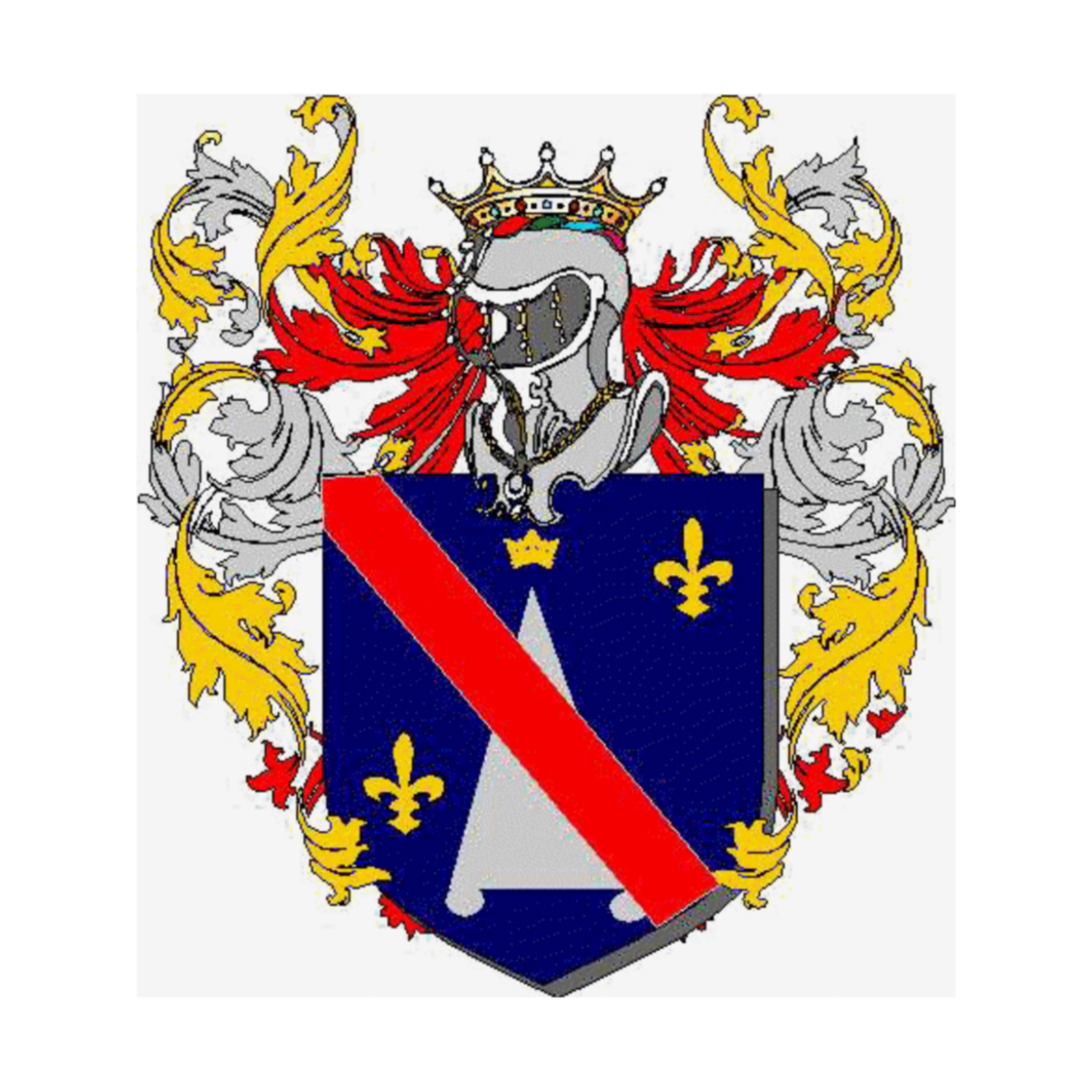 Coat of arms of family Sciarpa