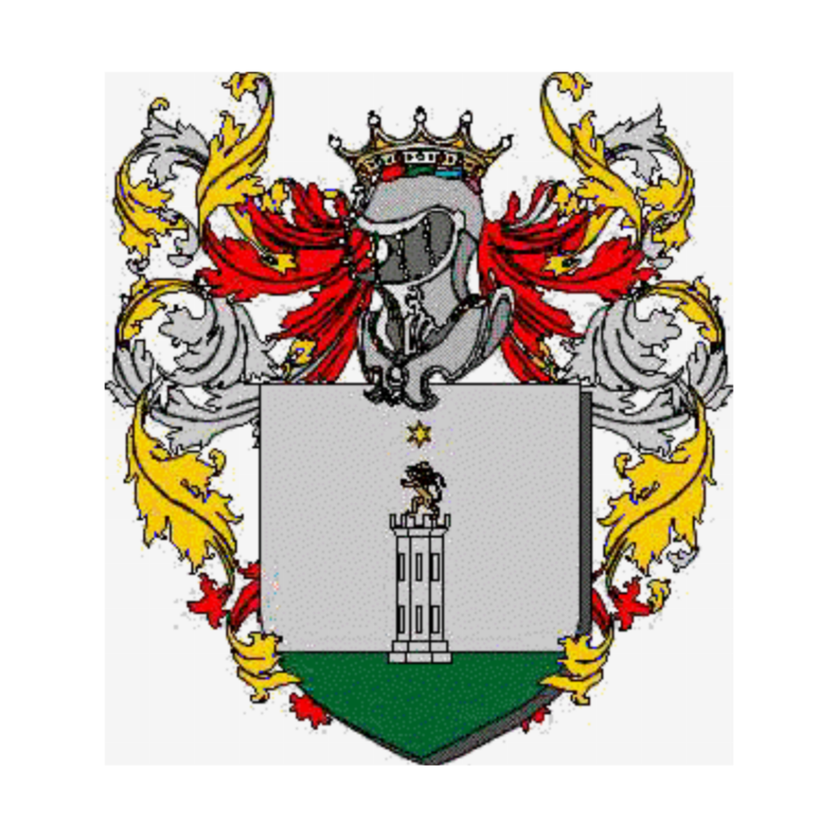 Coat of arms of family Scianti