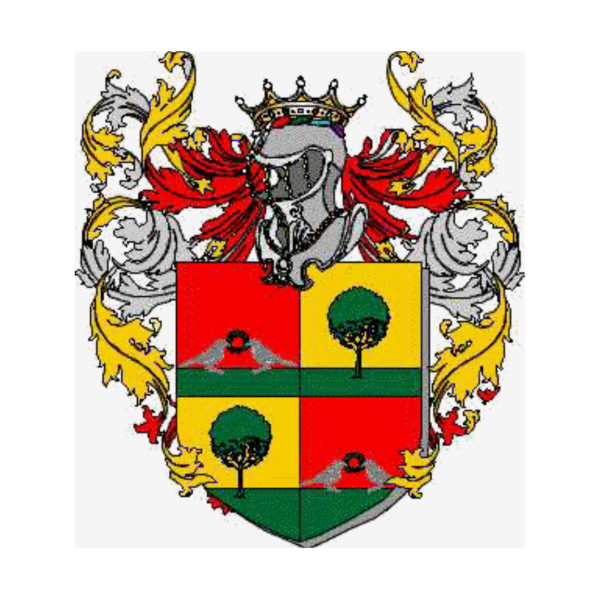 Coat of arms of family Amatulli