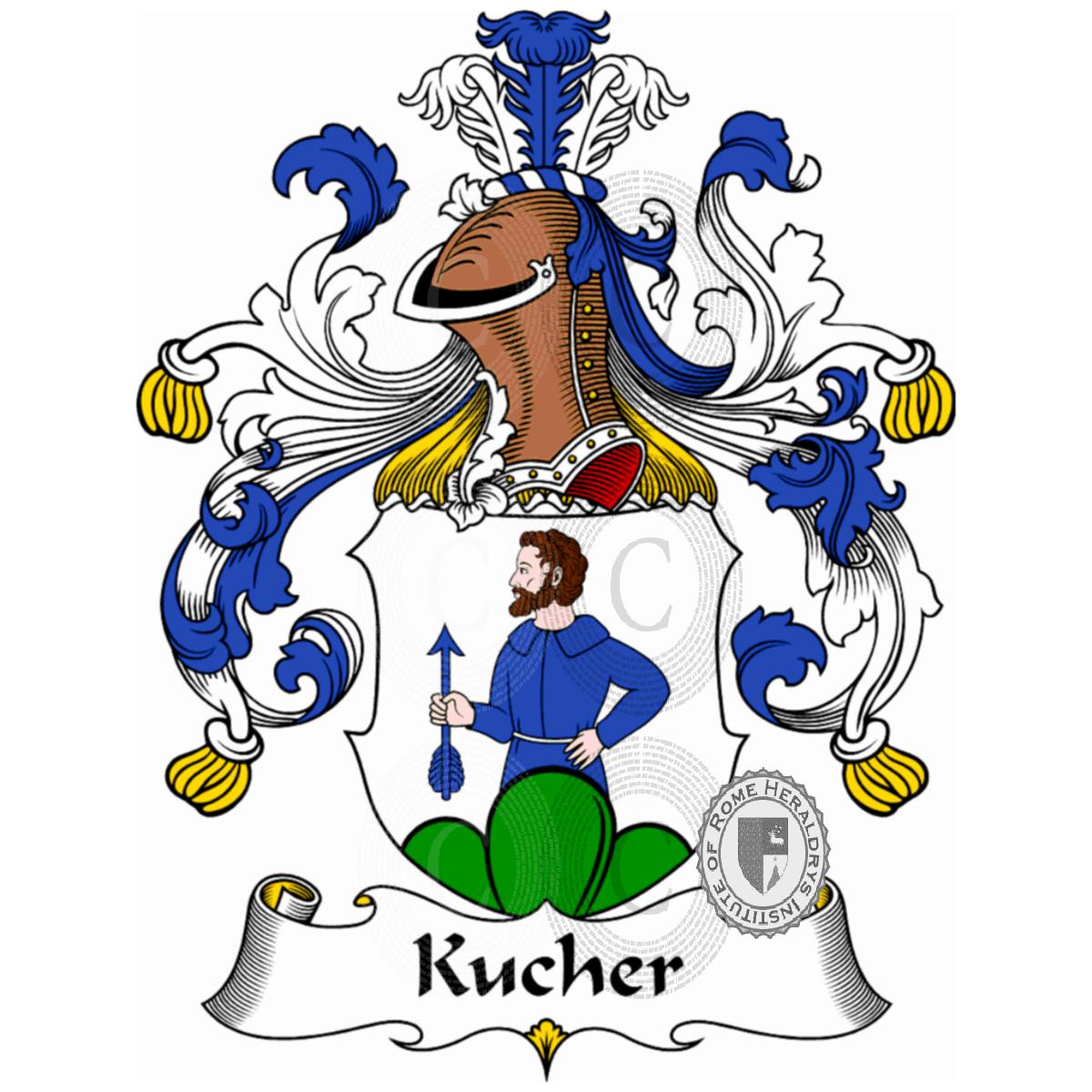Kucher: Familienname Kucher, Heraldik, Genealogie, Wappen Und