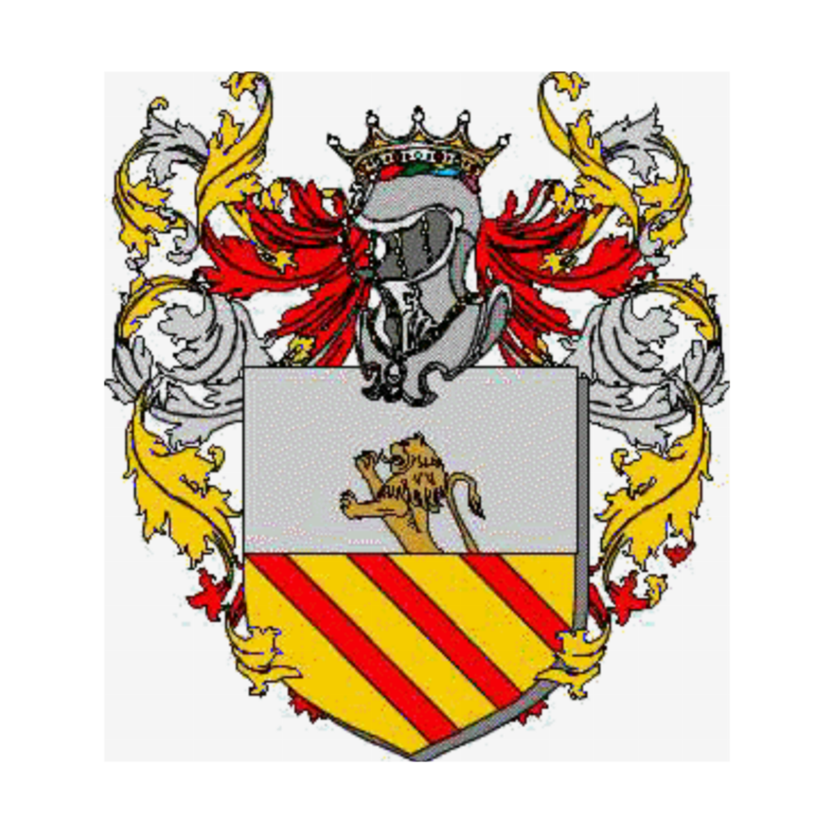 Coat of arms of family Pisto