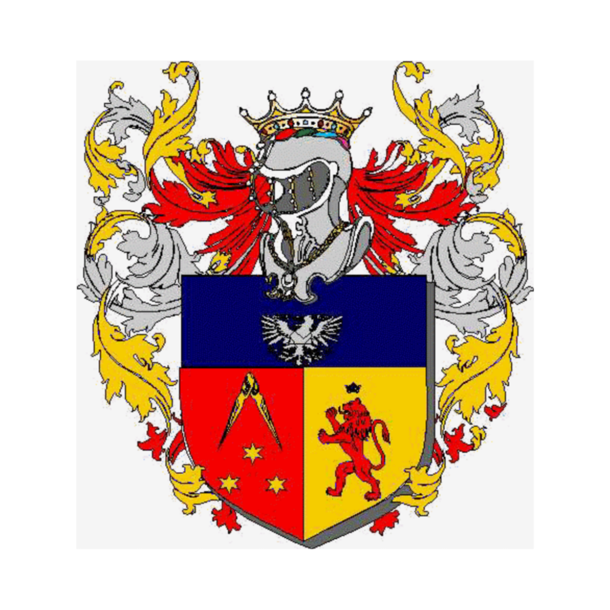 Coat of arms of family Poverini