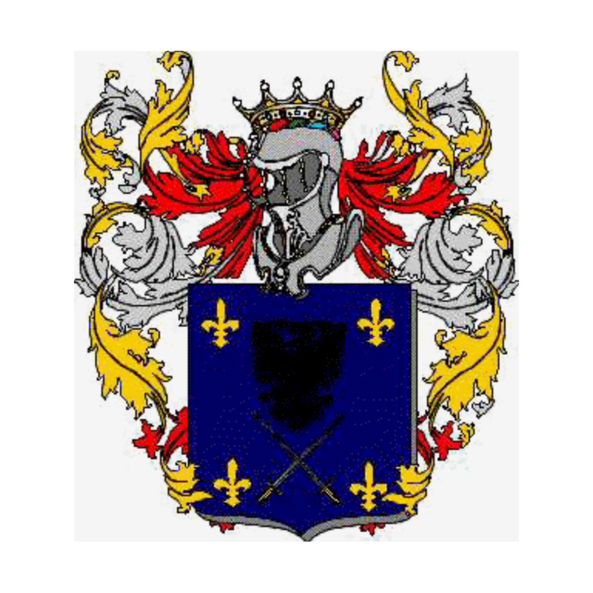 Diaz Familia Heráldica Genealogía Escudo Diaz