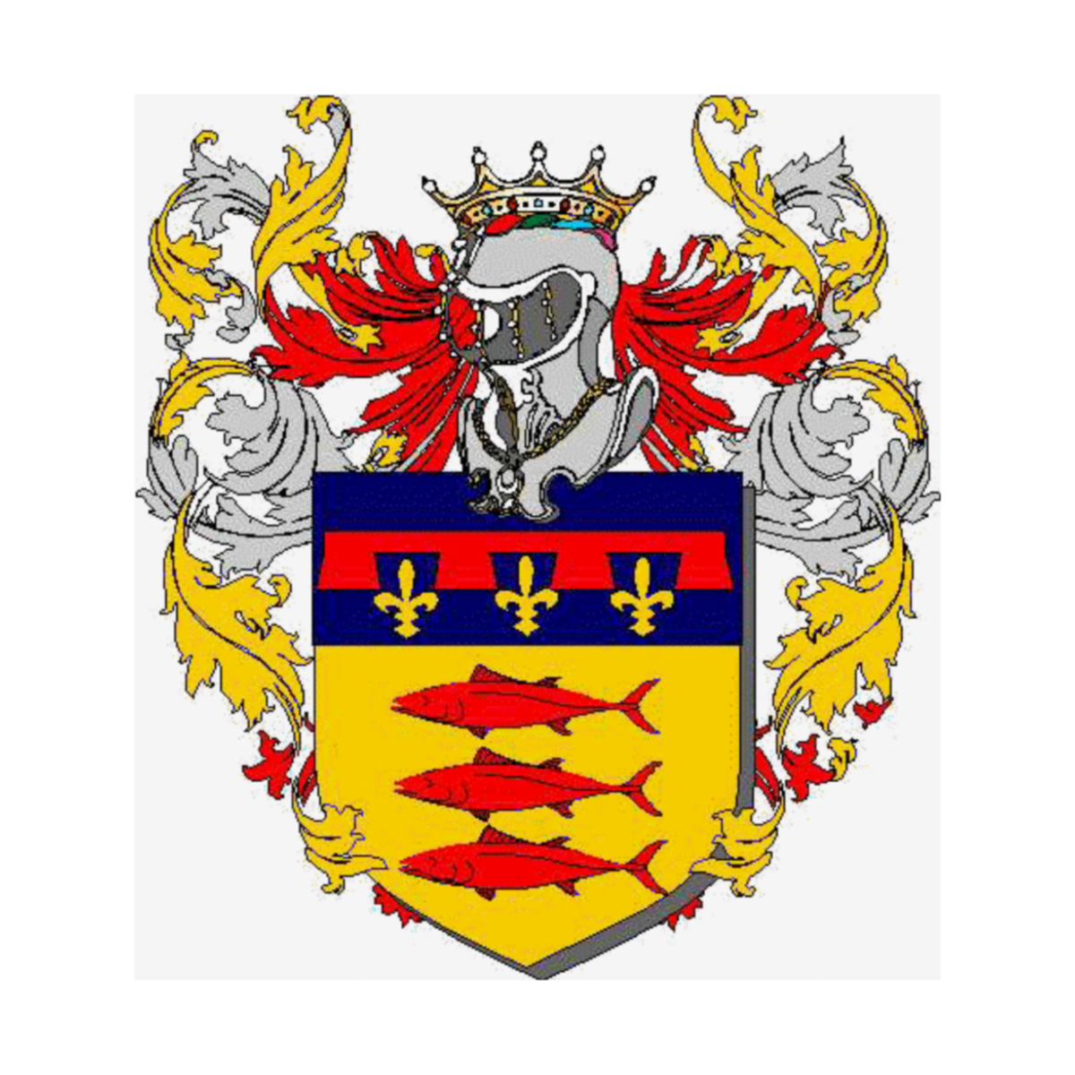 Coat of arms of family Alonzi