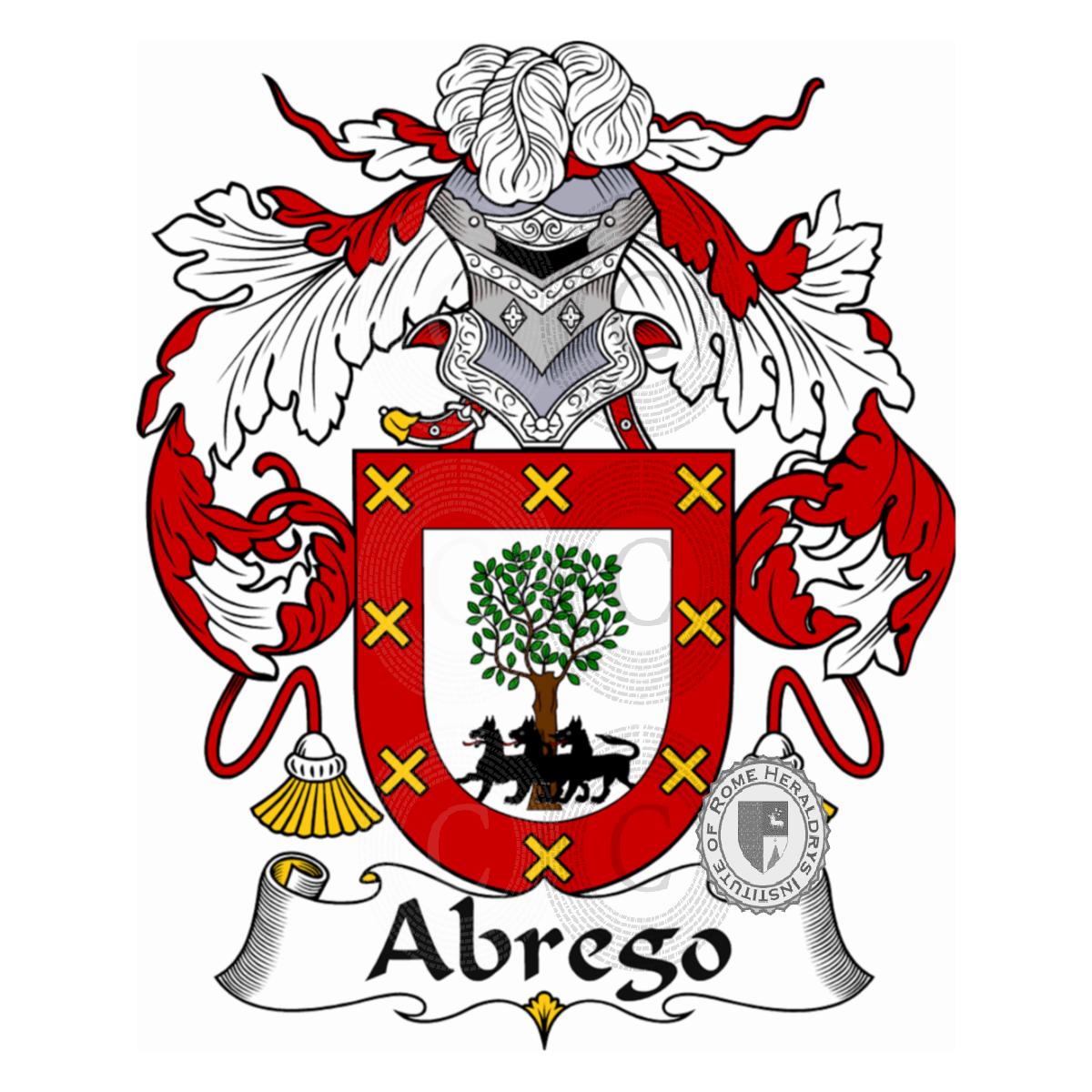Abrego Familia Heráldica Genealogía Escudo Abrego