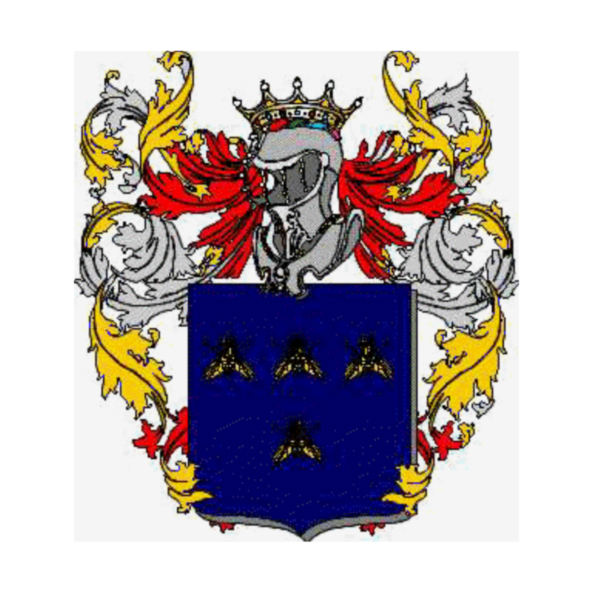 Coat of arms of family Zaoli