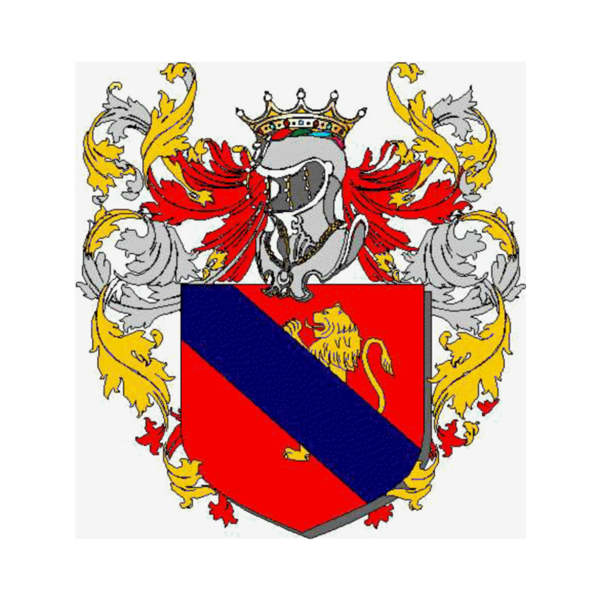 Coat of arms of family Anziano