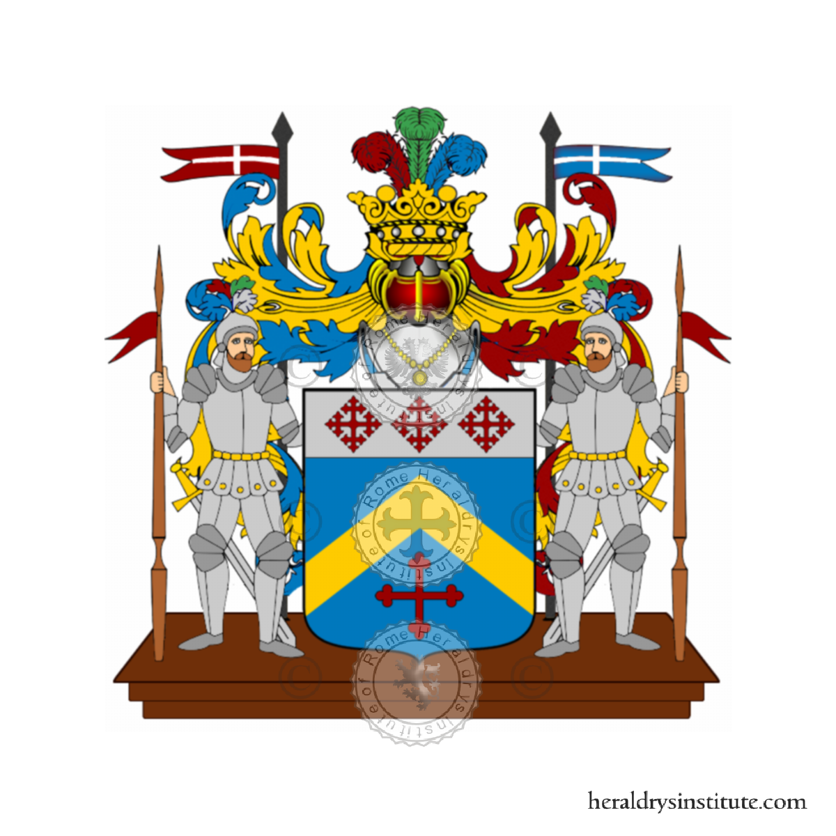 Coat of arms of family Solanini